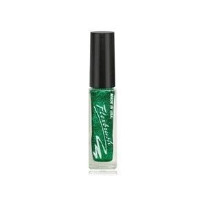 Flexbrush -Акрилни боички за декорация - 8 мл Flexbrush: Flexbrush Green Glitter