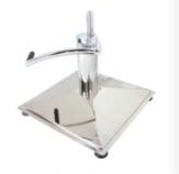 Фризьорски стол 035 ИЗБЕРИ ОСНОВА: Квадрат с хидравличен амортисьор