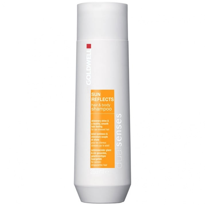 Goldwell Sun Reflects – Слънцезащитен шампоан за коса и кожа 100мл.