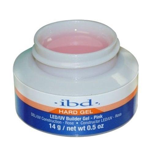 IBD Builder gel UV/LED - Изграждащ  гел - 14 и 56 мл. Цвят: Розов UV/LED 14мл.