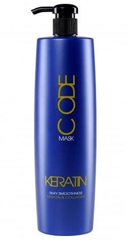 Keratin code Маска с кератин и колаген 250мл/1000мл. Разфасовка: 1000
