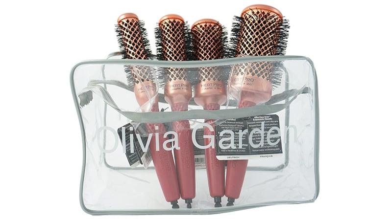 Комплект 4 четки Olivia Garden Heat Pro C+I 22+32+42+52мм