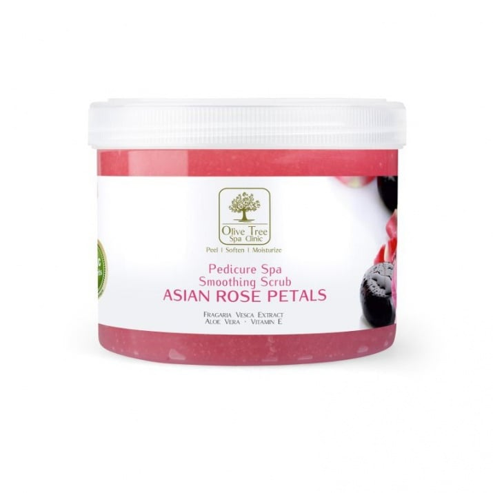Olive TreE Spa Asian Rose скраб педикюр Разфасовка: 500