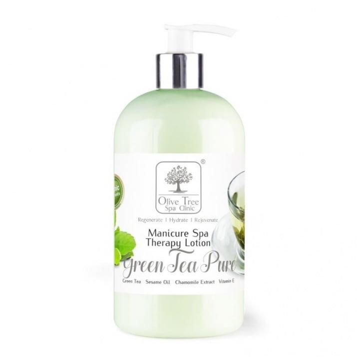 Olive Tree Spa Green Tea Pure - Лосион зелен чай 473мл