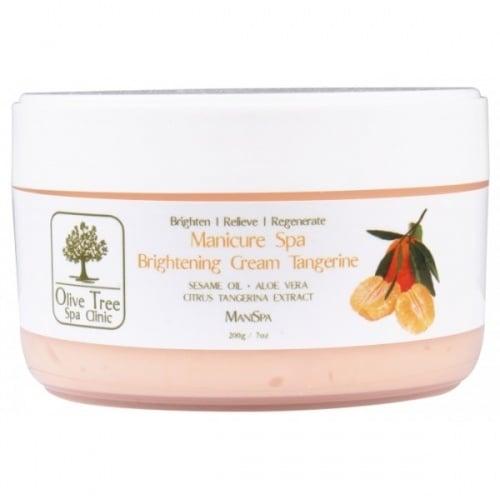 Olive Tree Spa- Маникюр спа освежаващ крем 200мл Мандарина