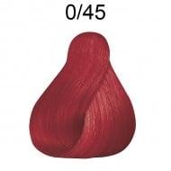 ПРОФЕСИОНАЛНА БОЯ ЗА КОСА LONDACOLOR 60мл. Londa Color: 0/45 - Меден червен микс