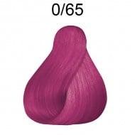 ПРОФЕСИОНАЛНА БОЯ ЗА КОСА LONDACOLOR 60мл. Londa Color: 0/65 - Виолетов червен микс