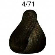 ПРОФЕСИОНАЛНА БОЯ ЗА КОСА LONDACOLOR 60мл. Londa Color: 4/71 - Средно кестеняво кафяво пепелно
