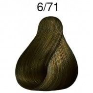 ПРОФЕСИОНАЛНА БОЯ ЗА КОСА LONDACOLOR 60мл. Londa Color: 6/71 - Тъмно русо кафяво пепелно