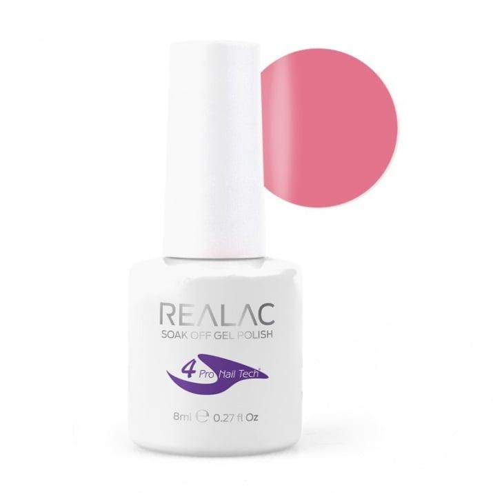 REALAC  ГЕЛ ЛАК - 8мл. Realac: 06 - Natural Rose