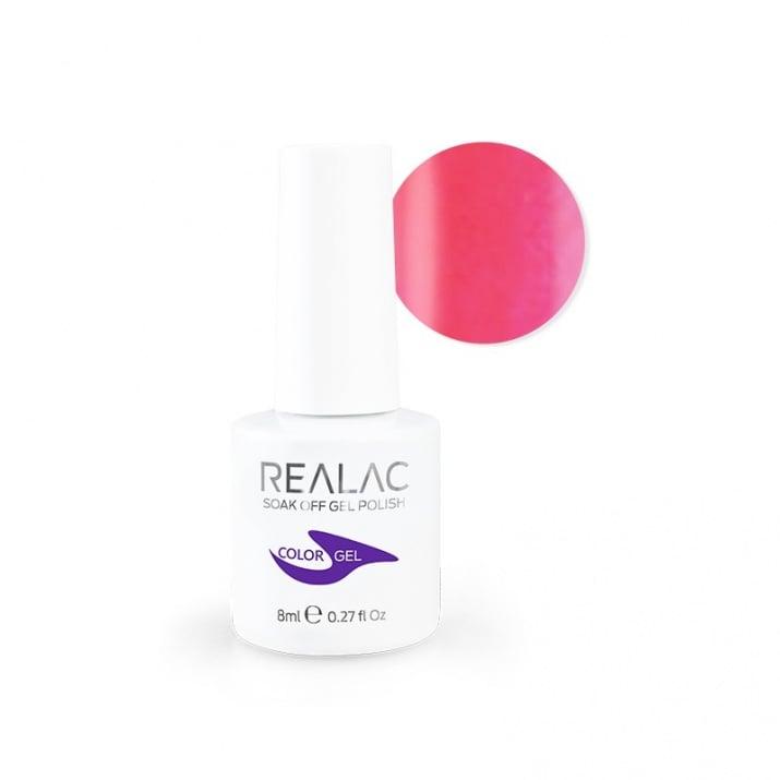 REALAC  ГЕЛ ЛАК - 8мл. Realac: 100 - I Think It's Pink