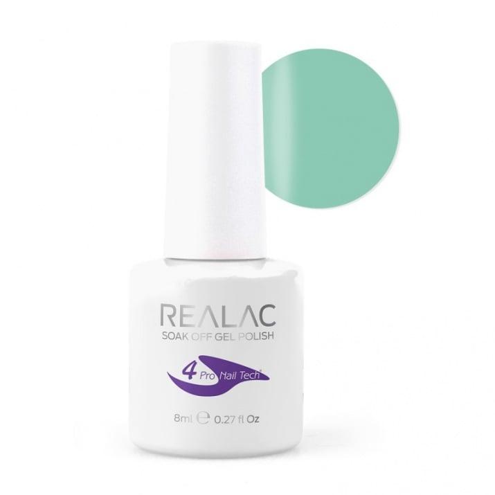 REALAC  ГЕЛ ЛАК - 8мл. Realac: 17 - Mint