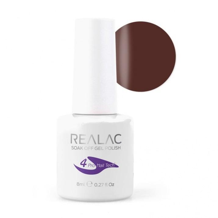 REALAC  ГЕЛ ЛАК - 8мл. Realac: 25 - Brown Sugar