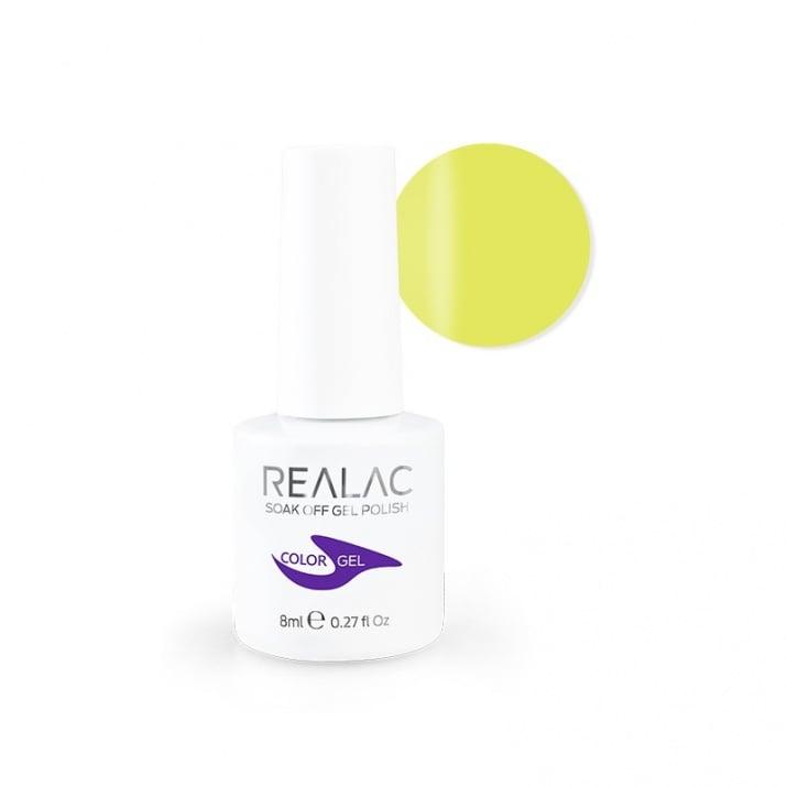 REALAC  ГЕЛ ЛАК - 8мл. Realac: 47 - Take Me Yellow