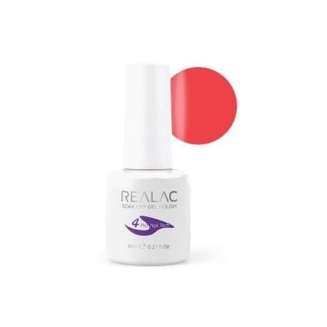 REALAC  ГЕЛ ЛАК - 8мл. Realac: 59 - Hot Coral