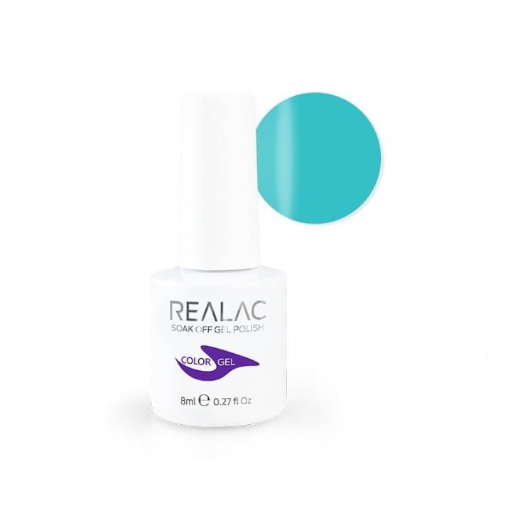 REALAC  ГЕЛ ЛАК - 8мл. Realac: 75 - Ocean Mist