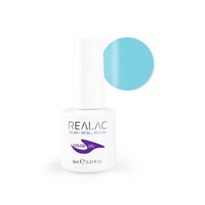 REALAC  ГЕЛ ЛАК - 8мл. Realac: 78 - Soft Blue