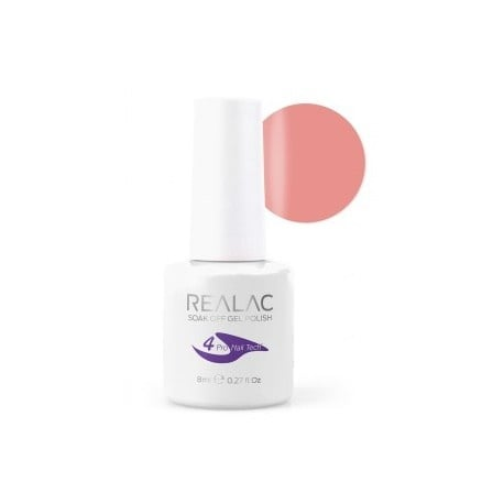 REALAC  ГЕЛ ЛАК - 8мл. Realac: 86 - Apricot Cream