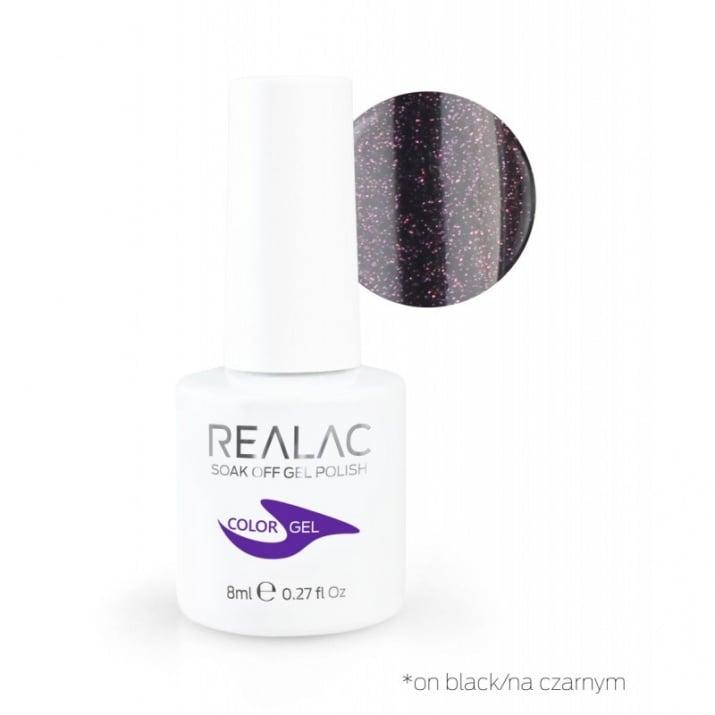REALAC  ГЕЛ ЛАК - 8мл. Realac: 120 - Moonlight Kiss Charm
