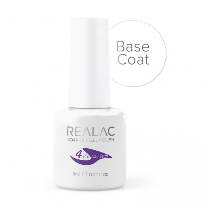 REALAC UV/LED БАЗА ГЕЛ-ЛАК - 8мл