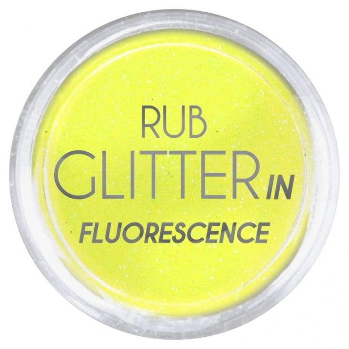 RUB GLITTER -  6 + 1 ПОДАРЪК Брокатна пудра 50 цвята RUB GLITTER: Rub Glitter in Fluorescence - 2