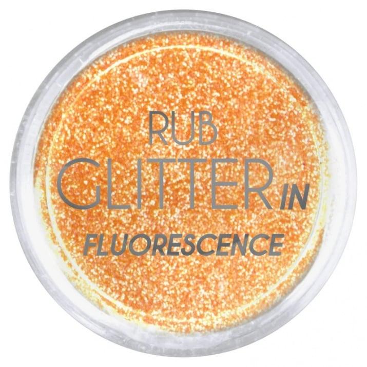 RUB GLITTER -  6 + 1 ПОДАРЪК Брокатна пудра 50 цвята RUB GLITTER: Rub Glitter in Fluorescence - 3