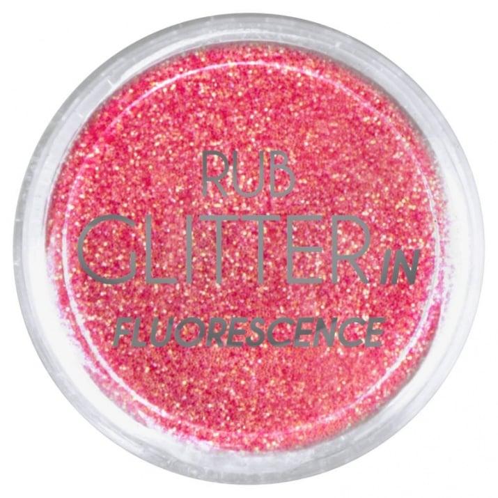 RUB GLITTER -  6 + 1 ПОДАРЪК Брокатна пудра 50 цвята RUB GLITTER: Rub Glitter in Fluorescence - 4