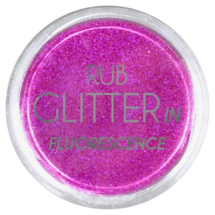 RUB GLITTER -  6 + 1 ПОДАРЪК Брокатна пудра 50 цвята RUB GLITTER: Rub Glitter in Fluorescence - 5