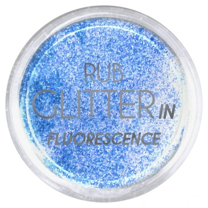 RUB GLITTER -  6 + 1 ПОДАРЪК Брокатна пудра 50 цвята RUB GLITTER: Rub Glitter in Fluorescence - 6