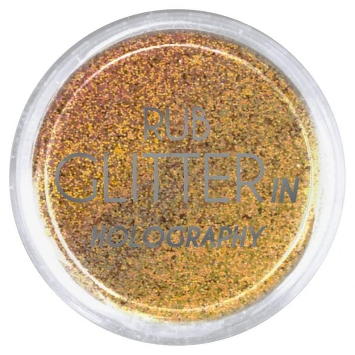 RUB GLITTER -  6 + 1 ПОДАРЪК Брокатна пудра 50 цвята RUB GLITTER: Rub Glitter in Holography - 3