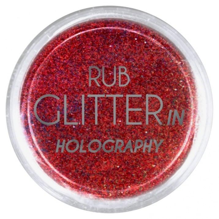 RUB GLITTER -  6 + 1 ПОДАРЪК Брокатна пудра 50 цвята RUB GLITTER: Rub Glitter in Holography - 4