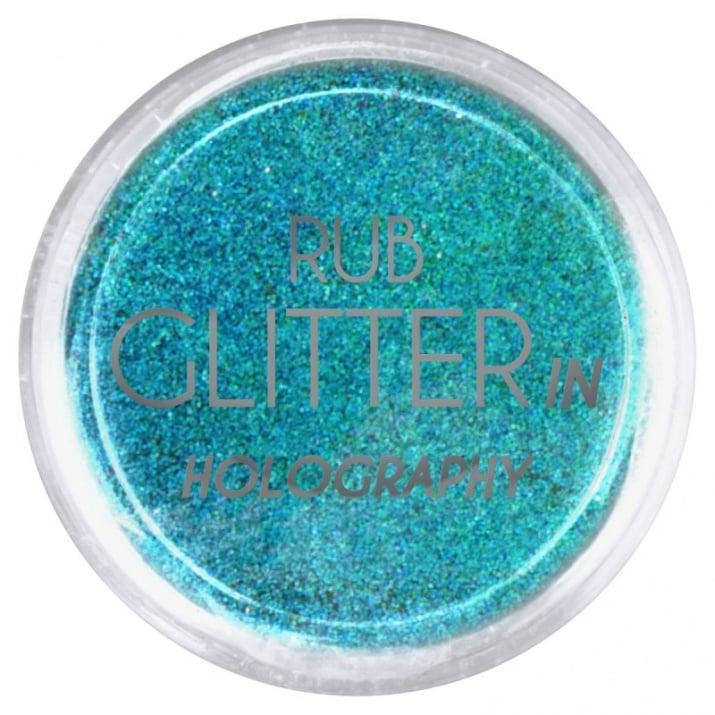 RUB GLITTER -  6 + 1 ПОДАРЪК Брокатна пудра 50 цвята RUB GLITTER: Rub Glitter in Holography - 5