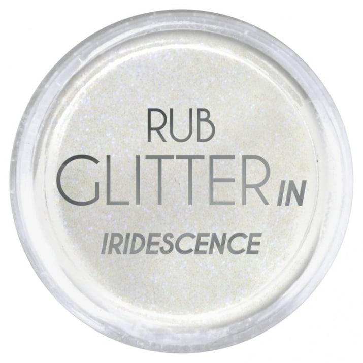 RUB GLITTER -  6 + 1 ПОДАРЪК Брокатна пудра 50 цвята RUB GLITTER: Rub Glitter in Iridescence - 2