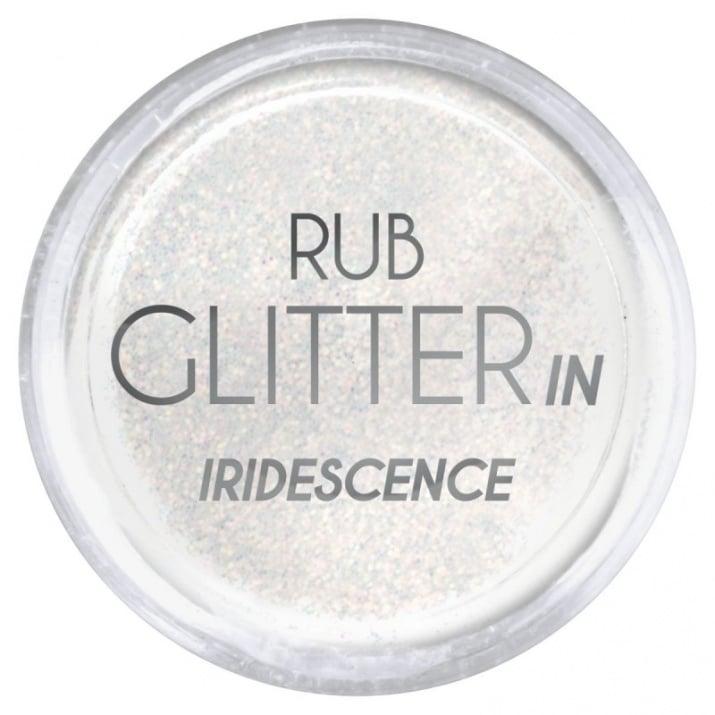 RUB GLITTER: Rub Glitter in Iridescence - 4