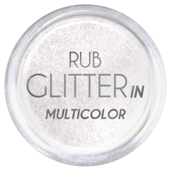 RUB GLITTER -  6 + 1 ПОДАРЪК Брокатна пудра 50 цвята RUB GLITTER: Rub Glitter in Multicolor - 1