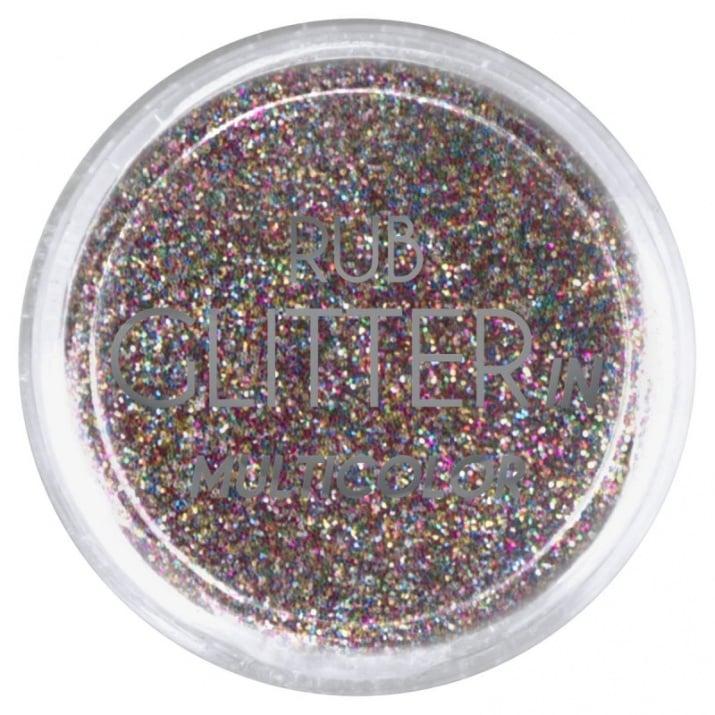 RUB GLITTER -  6 + 1 ПОДАРЪК Брокатна пудра 50 цвята RUB GLITTER: Rub Glitter in Multicolor - 3