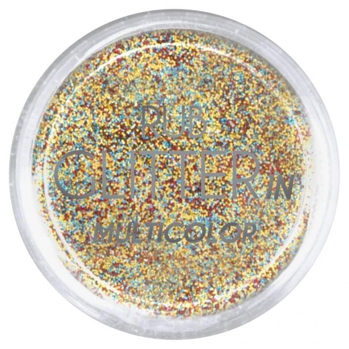RUB GLITTER -  6 + 1 ПОДАРЪК Брокатна пудра 50 цвята RUB GLITTER: Rub Glitter in Multicolor - 4