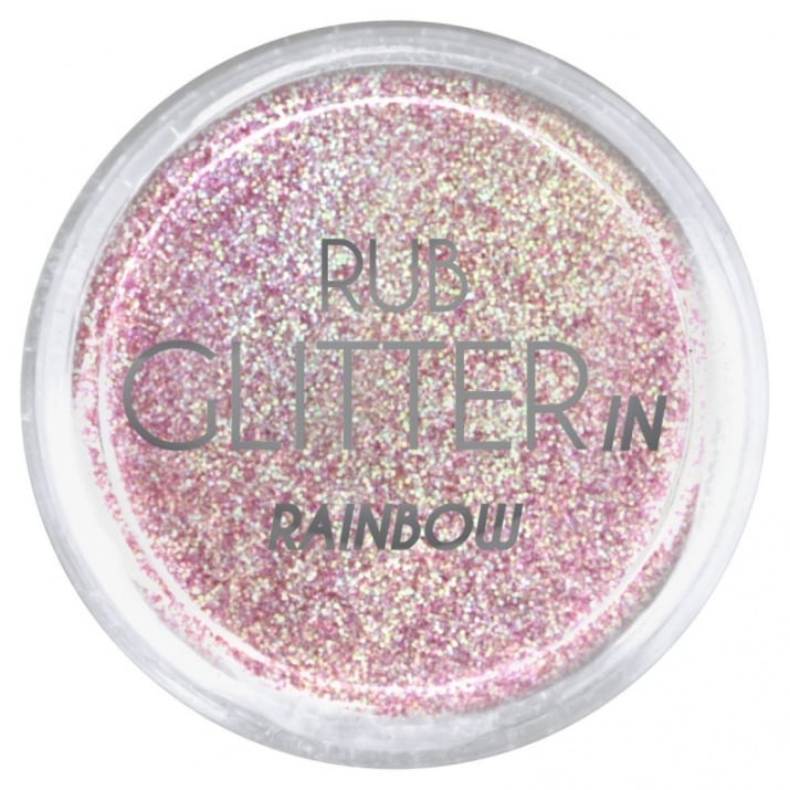 RUB GLITTER -  6 + 1 ПОДАРЪК Брокатна пудра 50 цвята RUB GLITTER: Rub Glitter in Rainbow - 2