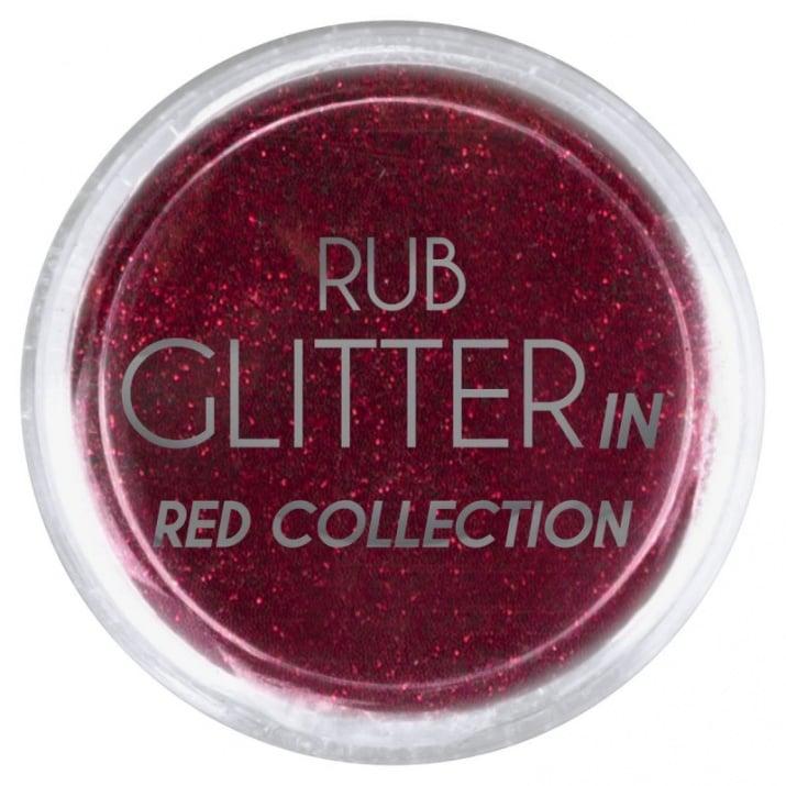 RUB GLITTER -  6 + 1 ПОДАРЪК Брокатна пудра 50 цвята RUB GLITTER: Rub Glitter in Red Collection - 2