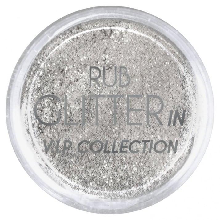 RUB GLITTER -  6 + 1 ПОДАРЪК Брокатна пудра 50 цвята RUB GLITTER: Rub Glitter in V.I.P