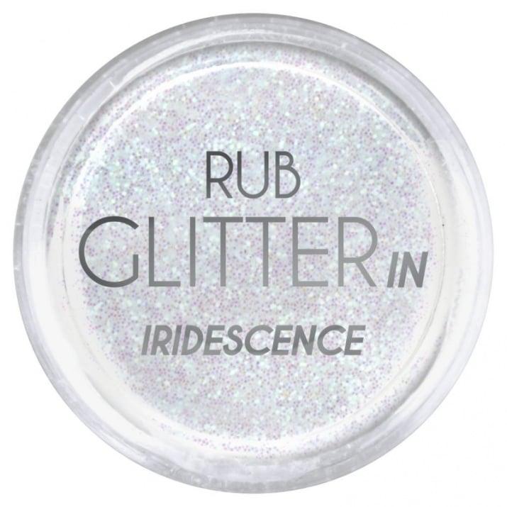 RUB GLITTER -  6 + 1 ПОДАРЪК Брокатна пудра 50 цвята RUB GLITTER: Run Glitter in Iridescence - 3