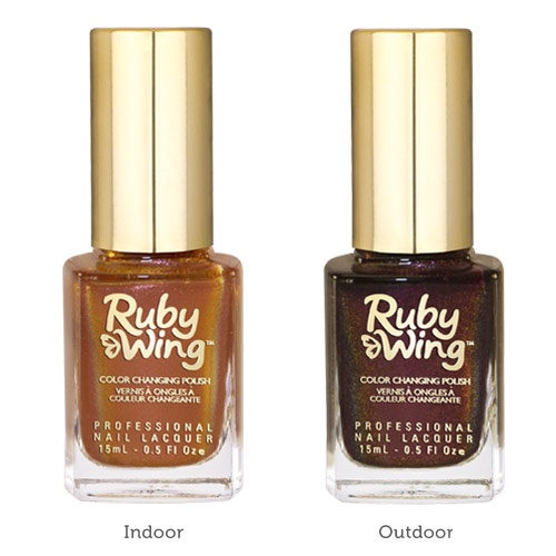 Ruby Wing - Соларен лак за нокти 15мл. Цветове: Cinnamon-Bun