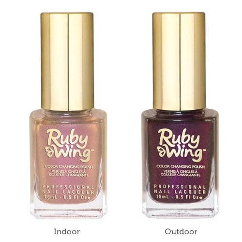Ruby Wing - Соларен лак за нокти 15мл. Цветове: Sweet-Cream