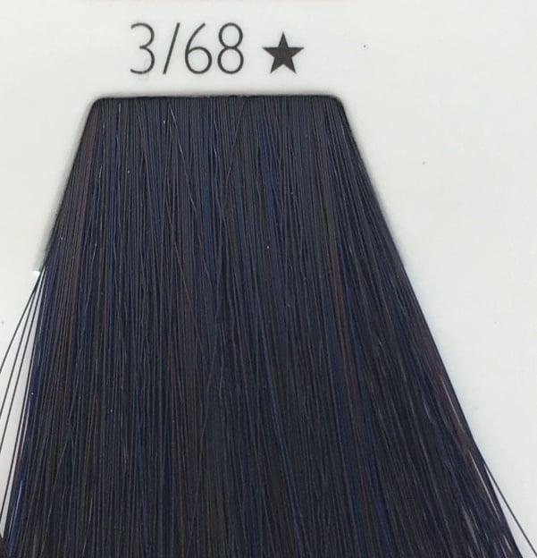 WELLA COLOR TOUCH - БЕЗАМОНЯЧНА БОЯ 60мл Color Touch: 3/68 Тъмно кафяво с виолетово перлен оттенък