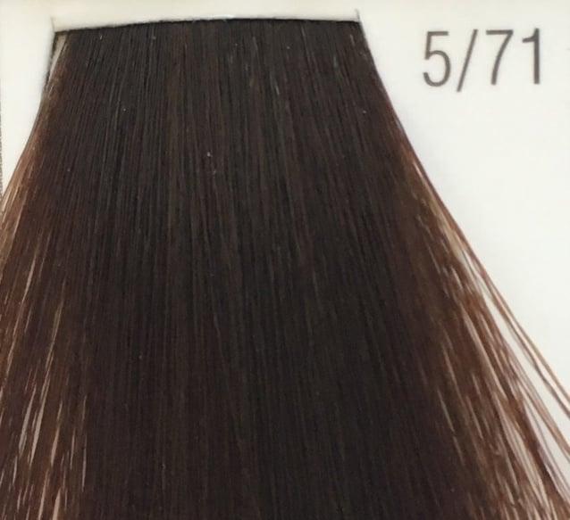 WELLA COLOR TOUCH - БЕЗАМОНЯЧНА БОЯ 60мл Color Touch: 5/71 Светлокафяво с кафяво пепелен оттенък