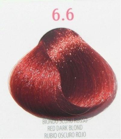 Young Color You - Боя за коса 100мл + оксидант 150мл Young Color You: Червени цветове №6.6 - червено тъмно рус