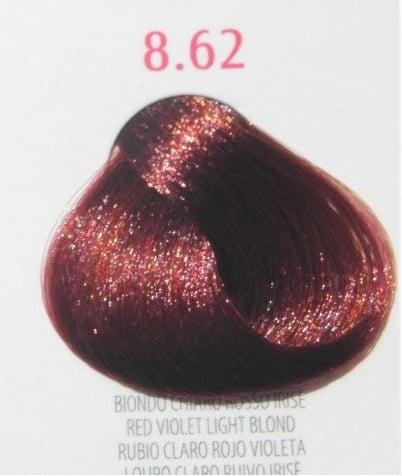Young Color You - Боя за коса 100мл + оксидант 150мл Young Color You: Червени цветове №8.62 - червено виолетово светло рус