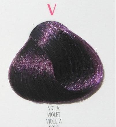 Young Color You - Боя за коса 100мл + оксидант 150мл Young Color You: Микс тон №V - виолетов