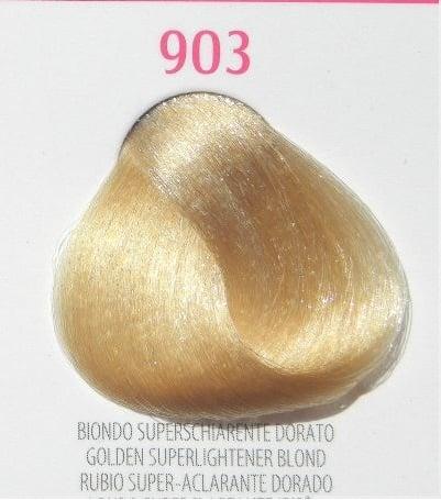 Young Color You - Боя за коса 100мл + оксидант 150мл Young Color You: Супер светли цветове №903 - златисто супер светло рус