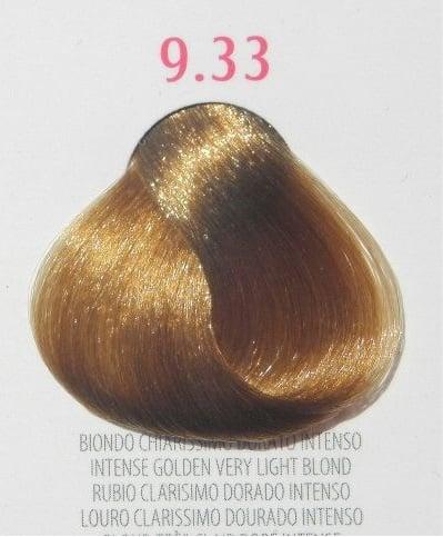 Young Color You - Боя за коса 100мл + оксидант 150мл Young Color You: Златисти цветове №9.33 - интензивно златисто много светло рус